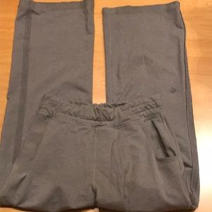 Lululemon gray sweat pants